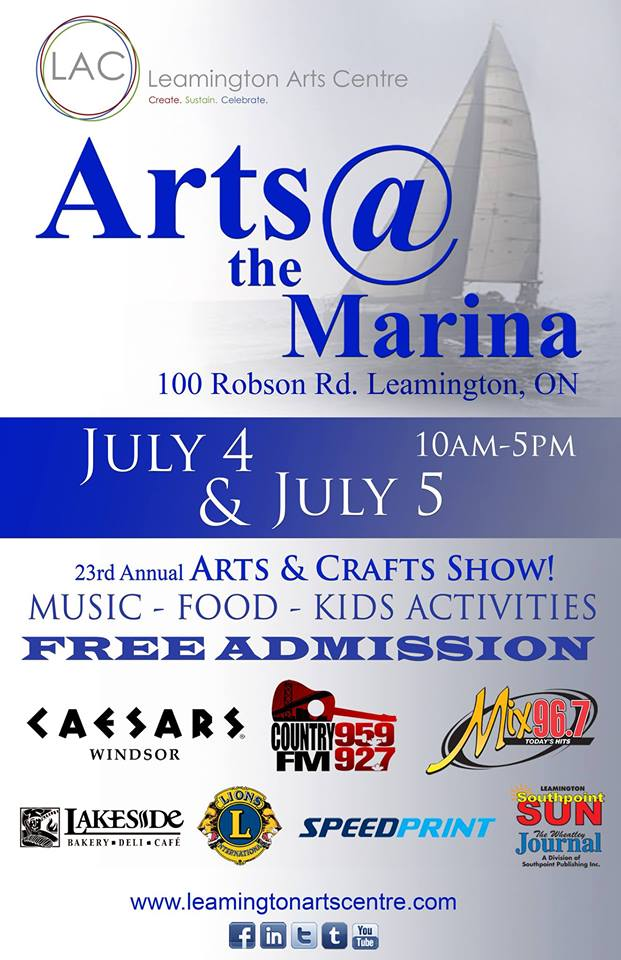 2015 Arts @ the Marina Poster